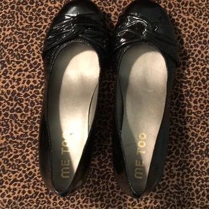 me too Shoes - Size 7.5M Black Me Too wedges